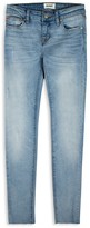 Hudson Girls' Dolly Raw Skinny Jeans - Sizes 7-16