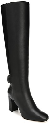 Via Spiga Shayla Leather Block Heel Tall Boot