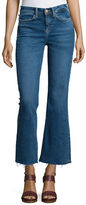 MiH Jeans Lou Flare-Leg Cropped Jeans, Blue Fade