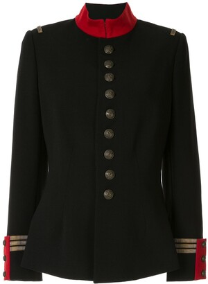 Ralph Lauren Collection Fitted Military Jacket