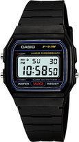 Casio F-91w-1xy resin digital watch