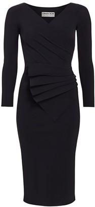 Chiara Boni Kaya Pleated Detail Bodycon Dress
