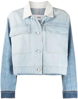 Closed Tale panelled denim jacket