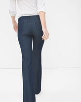 White House Black Market Petite Trouser Flare Jeans