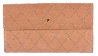 Chanel Diamond Stitch Wallet