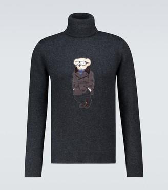 Ralph Lauren Purple Label Bear cashmere sweater