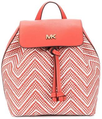 MICHAEL Michael Kors Woven-Effect Backpack