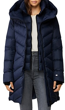 Soia & Kyo Soraya Hooded Down Puffer Coat