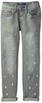 Vigoss Diamond Skinny Roll Cuff Pant (Little Girls)