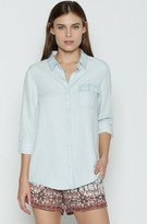 Joie Onyx Chambray Top