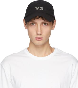 Y-3 Black Wool CH1 Cap