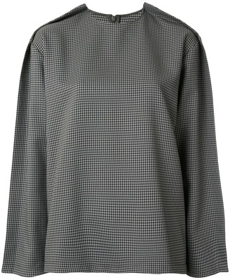 Maison Margiela Houndstooth Print Top