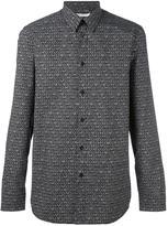 Givenchy logo star print shirt - men - Cotton - 39