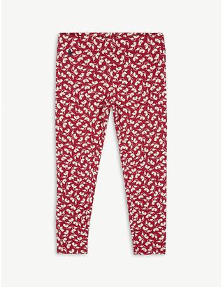 Ralph Lauren Floral print cotton-blend leggings 2-14 years