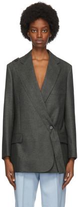 Stella McCartney Grey Wool Rylee Blazer