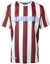 House of Holland x Umbro jersey striped T-shirt
