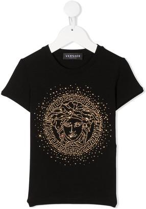 Versace Kids TEEN Medusa cotton T-shirt