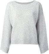Vince drop shoulder oversized knit top