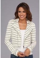 """BCBGMAXAZRIA Levi"""" Striped Jacket"""