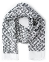 Lanvin patterned scarf