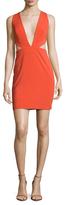 Aq/Aq Rhodium Cut-Out Mini Dress