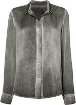 RtA loose-fit shirt - women - Silk - XS