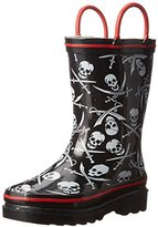 Western Chief Dueling Skulls Rain Boot (Toddler/Little Kid/Big Kid)