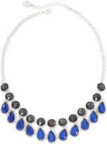 Liz Claiborne Blue Stone Teardrop Necklace