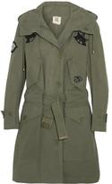 Figue Field appliquéd cotton jacket