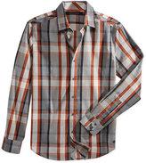 Sean John Men's Roadmap Plaid Shirt