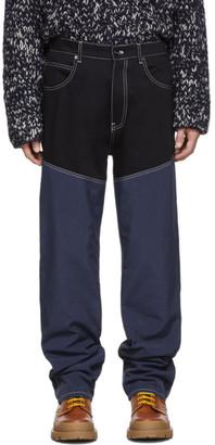 Jacquemus Navy Le De Nimes Meunier Jeans