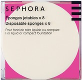 Sephora Disposal Sponges x8