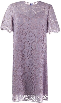 Valentino Lace Shift Dress