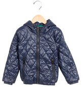 Hermes Boys' Quilted Hooded Jacket