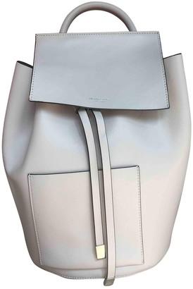 Michael Kors Ecru Leather Backpacks