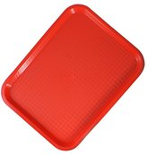 Zodiac 31 x 41 cm Fast Food Tray, Red