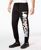 Love Moschino Men's Logo-Print Jogger Pants