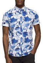 Calvin Klein Floral Printed Cotton Shirt