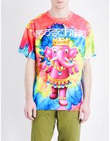 Moschino Tie-dye Cotton-jersey T-shirt