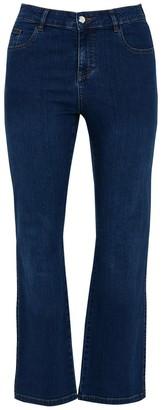 Evans Midwash Straight Leg Jeans