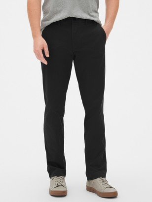 Gap Modern Khakis in Straight Fit with GapFlex