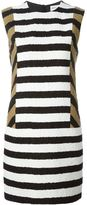Sonia Rykiel colour block striped dress - women - Silk/Cotton/Viscose - 36