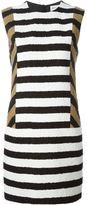 Sonia Rykiel colour block striped dress - women - Silk/Cotton/Viscose - 36
