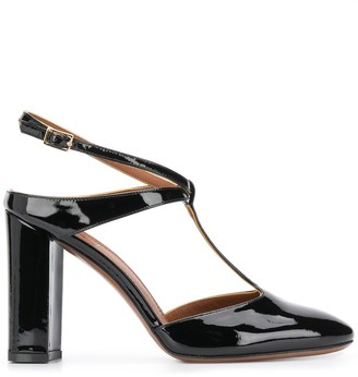 L'Autre Chose T-bar closed toe sandal