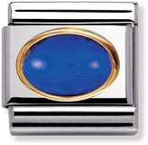 Nomination 18ct Gold & Blue September Birthstone Charm 030502/09