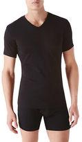 Calvin Klein 2 Pack Short Sleeve V Neck T Shirt
