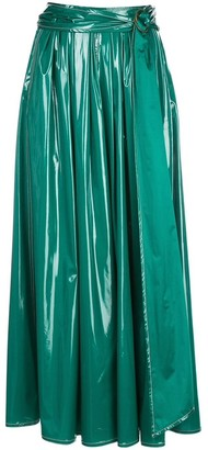 Sies Marjan Glossy Belted Skirt