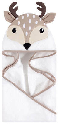 Baby Vision One Size Unisex Hudson Baby Baby Animal Face Hooded Towel, 1-Pack