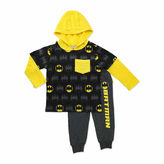 Asstd National Brand Boys Batman Long Sleeve Pant Set-Toddler
