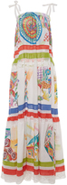 Stella Jean Itticoltore Painted Dress